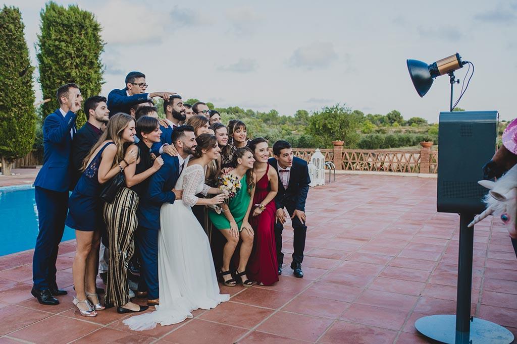 Fotomaton en bodas barcelona